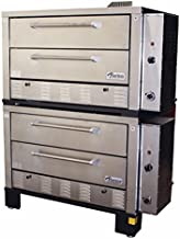 Peerless Ovens Model CW62PSC Twin Door Double Stack Pizza Oven - Gas Fired - LP Gas - CANOPY VENT