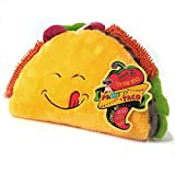Bow Wow Taco Food Dog Toy Squeaky Plush One Piece Pet Teeth Teasing Toy