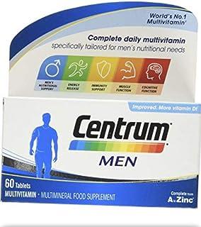 Centrum Multivitamin for Men, Multivitamin/Multimineral Supplement with Vitamin D3, B Vitamins and Antioxidants - 60 Count