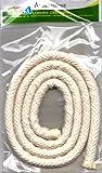 GRAINE CREATIVE 153300 Coton Extérieur et Cale Mèche, Beige, 10,4 x 1,5 x 19,8 cm