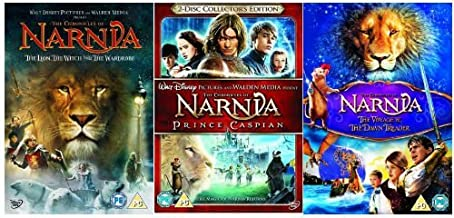 The Complete Chronicles of Narnia DVD Collection: The Lion, The Witch and the Wardrobe (1) / Prince Caspian (2...