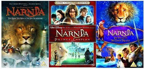 The Complete Chronicles of Narnia DVD Collection: The Lion, The Witch and the Wardrobe (1) / Prince Caspian (2) / The Voyage of the Dawn Trader + Extras