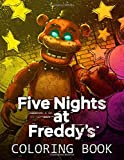 Five Nights At Freddy's Coloring Book: 50 Coloring Pages FNAF for Kids and Teens