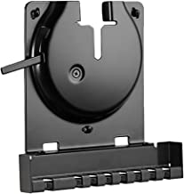 Sanus Wall Mount for Sonos Amp - Slim Black Design with Lockable Latch for Security - Low Profile Bracket Design Mounts in Any Orientation - Built-in Cable Management & Easy 15-Minute Install