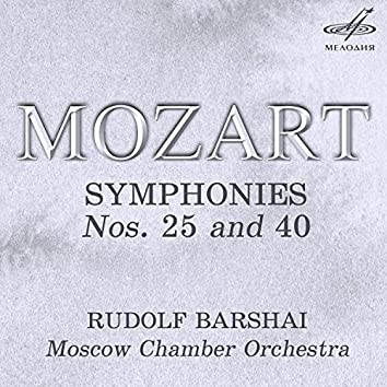 Mozart: Symphonies Nos. 25 and 40