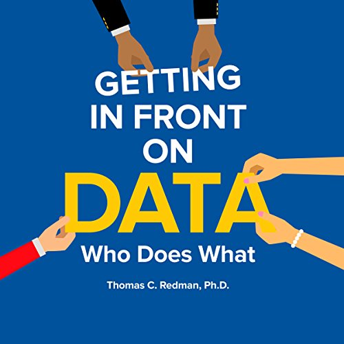 Getting in Front on Data audiobook cover art