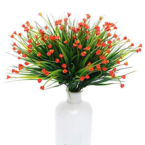 Kunstmatige Nepbloemen, 10 Bundels Huis Groen Keuken Bruiloft Tuin Festival Kantoor Binnen Buiten UV-Bestendig Heesters Planten Hangend Tuin Decor,B