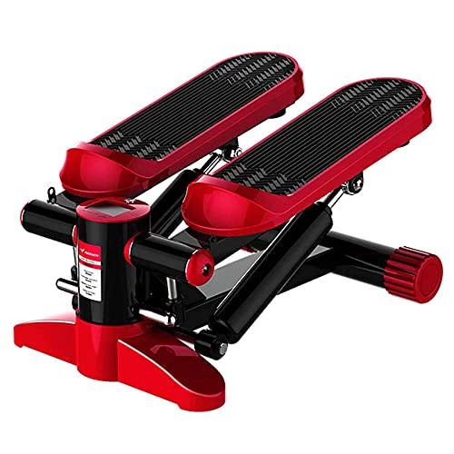 LSVRGI Máquina de Step, Mini Stepper con LED Monitor pedaleador elíptico portátil Mini Bike eléctrica Pedales ergonómicos para piernas