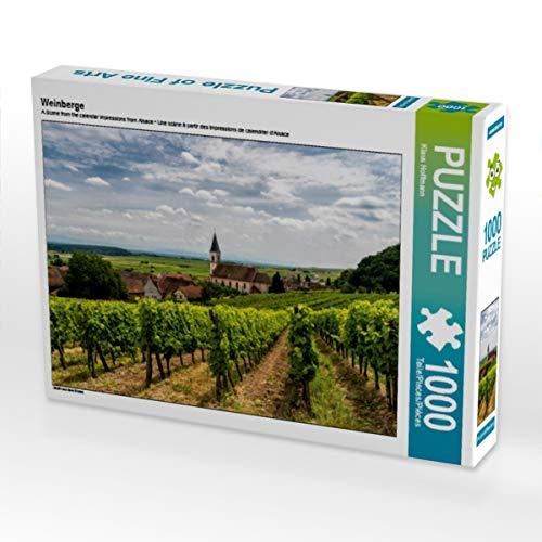 CALVENDO Puzzle Weinberge 1000 Teile Lege-Größe 64 x 48 cm Foto-Puzzle Bild von Klaus Hoffmann