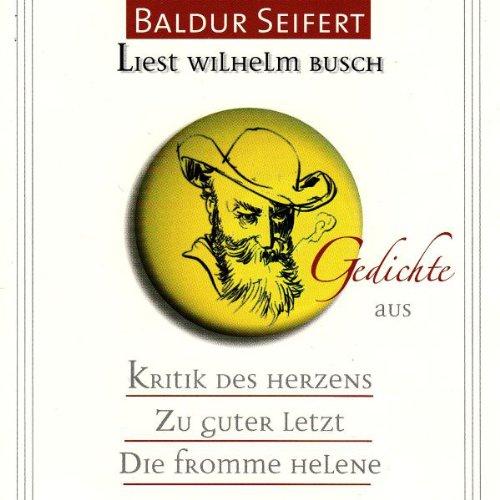 Baldur Seifert liest Wilhelm Busch Titelbild