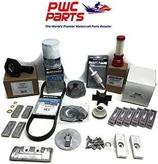 MERCURY VERADO L6 Quicksilver 300 Hour Maintenance Kit 250/275/300HP Fuel Filter & In-Line, Iridium Spark Plugs, Water Pump Rebuild, Timing Serpentine Belt, Lower Unit Seals, Thermostat Repl 8M0097859