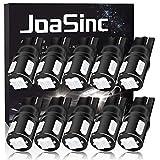 JoaSinc W5W 501 Lampadina LED T10 194 168 Lampadine Blu 6-SMD 5630 per Luci di Posizione Auto, luci interne, cruscotto, targa, bagagliaio, DC 12 V, confezione da 10