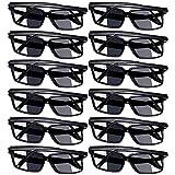 Komake Gafas de Sol de Visión Trasera,Gafas Decorativas,Gafas de Espejo Visión Trasera con Diseño de Moda,Gafas de...