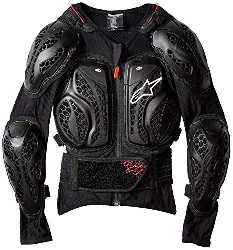 Youth Bionic Action Giacca Nero Rosso Lxl