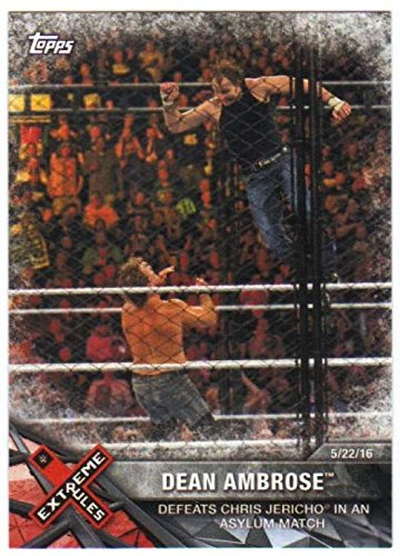 dean ambrose trading cards - 5