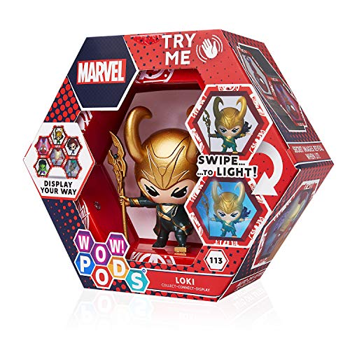 WOW! PODS Marvel Avengers Loki Sammelfigur, beleuchtet