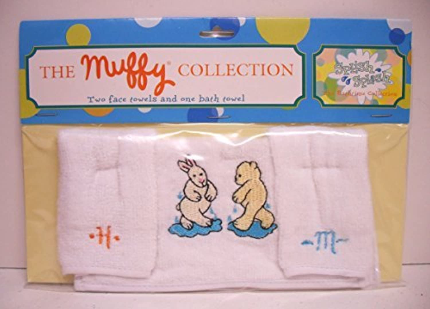 tienda en linea Muffy Vanderbear Splish Splash Bath Time Towels by by by North American Bear  ahorra hasta un 70%
