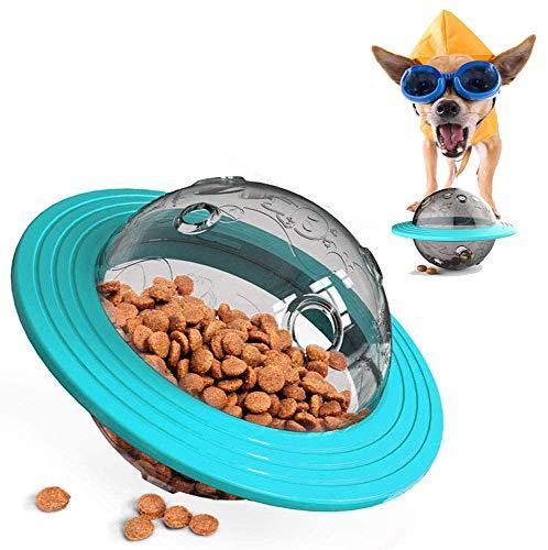 YOUYIKE® Juguetes para Perros, Alimentador de Comida para Perros, Bola de Tratamiento IQ Juguetes Interactivos Educativos Dispensadora de Comida con Ajuste para Mascotas Perros