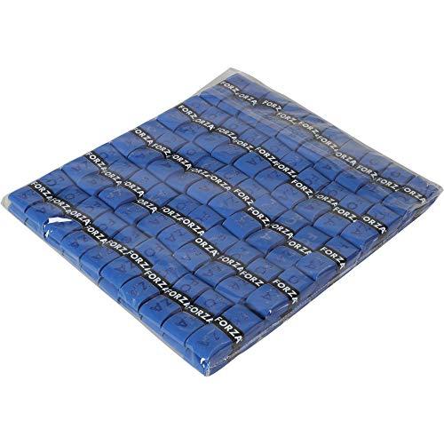 フォーザ(FZ FORZA) バドミントン オーバー グリップテープ [ A-GRIP ] ポリウレタン+不織布製 100本入りセット ブルー FZ301597 【正規品(デンマークブランド)】