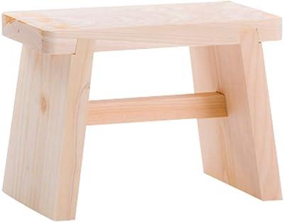 山下工芸(Yamashita kogei) バスチェア ナチュラル W27×D15×H20cm 日本製 風呂椅子 中 521544