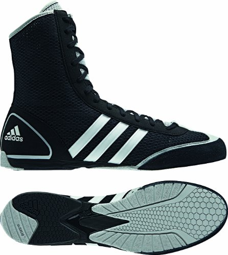 Adidas Box Rival II, Unisex Adults Boxing Shoes, Black (Black/Grey), 3.5 UK (36 EU)