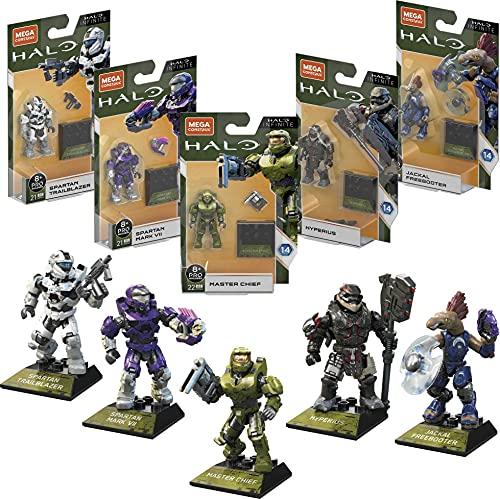 Halo Mega Bloks Heroes  marca MEGA