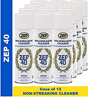 Zep 40 Non-Streaking Cleaner Aerosol (Case of 12)