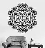 Adhesivos de pared Adhesivos artísticos y mural Mandala Lotus Code Mural 57x57cm