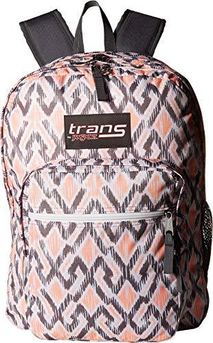 Trans By JanSport 15' SuperMax Backpack - Grey, Grey Stripe