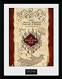 Harry Potter 1art1 Karte des Rumtreibers Gerahmtes Bild Mit