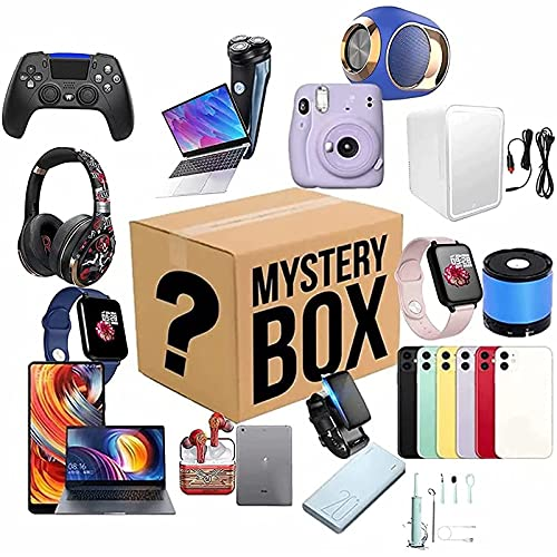 Lucky Box, Mystery Boxes Al Azar, con Varios Productos Electrónicos, Lucky Wish Gift Sin Abrir, como Drones, Relojes Inteligentes, Gamepads Y Más