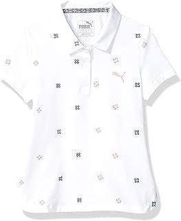 PUMA 2019 高尔夫女孩 Ditsy Polo 衫