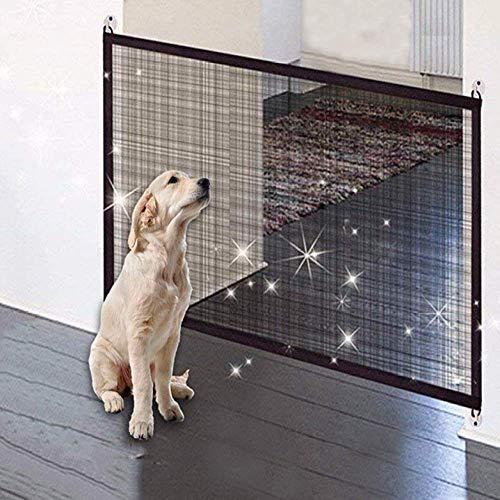 Pet Recinzione Cancello Porta Magica Pieghevole Protezione Guardia Cane Coperture di Sicurezza Proteggere Cane Porta Magica Accessori per Animali Domestici Gatto