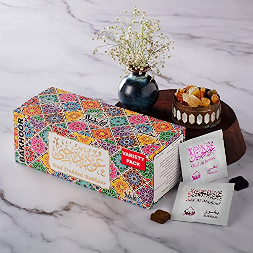 Dukhni Oud Bakhoor - Variety SAMPLE SET. 30 pieces of Maamoul Bakhoor | For...