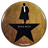 NaniWear Sherlock Hamilton Mash-Up 2.25 Inch Geek Button