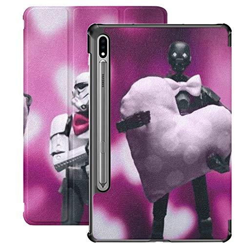 Custodia Galaxy Tablet S7 Plus da 12,4 pollici 2020 con portapenne, Gdynia Polonia 13 febbraio 2017 Custodia protettiva Folio Stormtrooper Slim Stand per Samsung