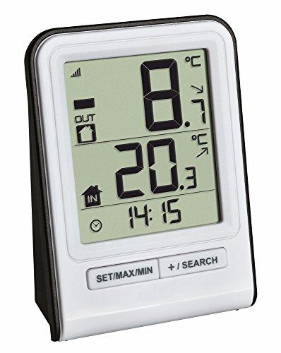 TFA Dostmann Funkthermometer Prisma TFA 30.3063 (Weiß)