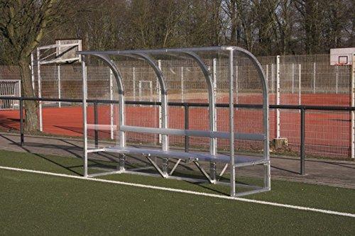 W&H Spielerkabine 'Module' - Rund, Breite:6 Meter