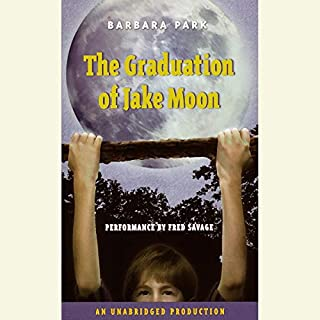 The Graduation of Jake Moon audiobook cover art