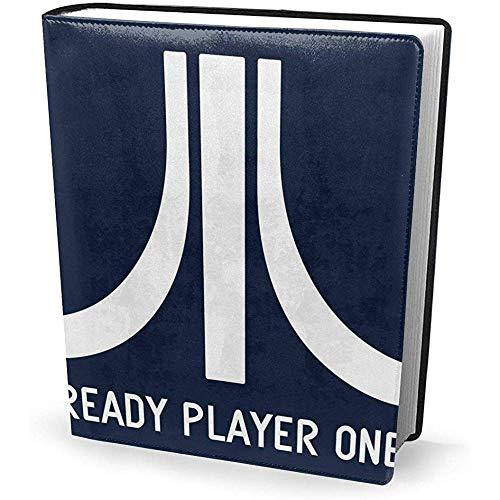 Funda de libro 9x11 pulgadas Atari Logo Ready Player One - Estirable Lavable Reutilizable