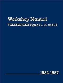 Volkswagen Workshop Manual Types 11, 14, and 15: 1952-1957