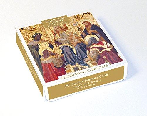 Confezione da 20 biglietti di Natale di beneficenza (MG-XETC207) – Biglietti di Natale artistici...