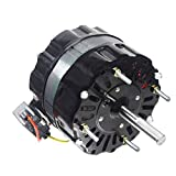 Packard 5.12 Inch Diameter Motor 1550/1300/1050 RPM 115 Volts 1/8 H.P. 2.60 Amps Greenheck Direct Replacement Motor