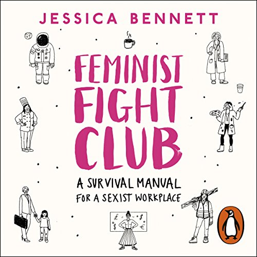Feminist Fight Club audiobook cover art