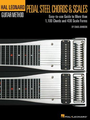 Pedal Steel Guitar Chords & Scales: Lehrmaterial für Gitarre (Hal Leonard Pedal Steel Guitar Method)