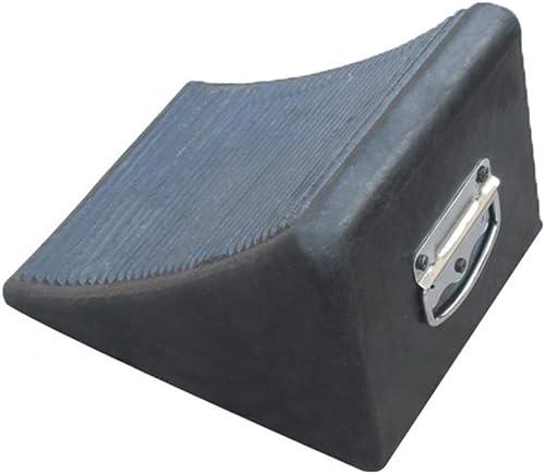 Bufür-Feng Bordstein-Rampenmatte, Reifensuchger Gummi-Dreieck-Auflage Anti-Rutsch-Auflage
