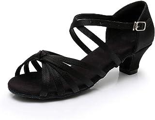 Meisjessandalen, premium schoenen, antislip, met hak, Latijnse dansschoenen, prinsessenschoenen, elegant, balroom, serie 3
