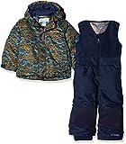Columbia Buga Conjunto para la Nieve, Niños, Mix Navy (Canyon Gold Trees), Talla: M