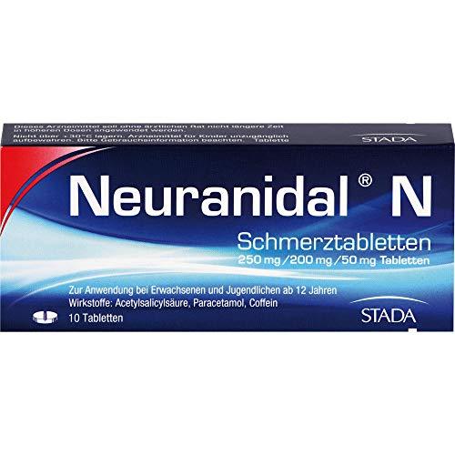 Neuranidal N Schmerztabletten, 10 St. Tabletten