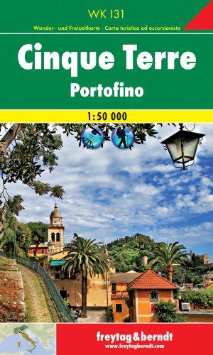 Cinque Terre - Portofino, Wanderkarte 1:50.000, WKI 31, freytag & berndt Wander-Rad-Freizeitkarten
